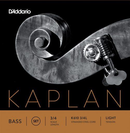 Kaplan Double Bass Set of Strings 3/4 Low
