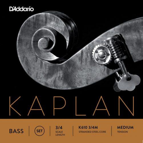 Kaplan Double Bass Set of Strings 3/4 Medium