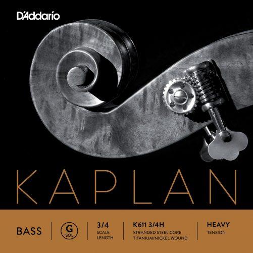 Kaplan Double Bass G String 3/4 High