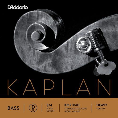 Kaplan Double Bass D String 3/4 High