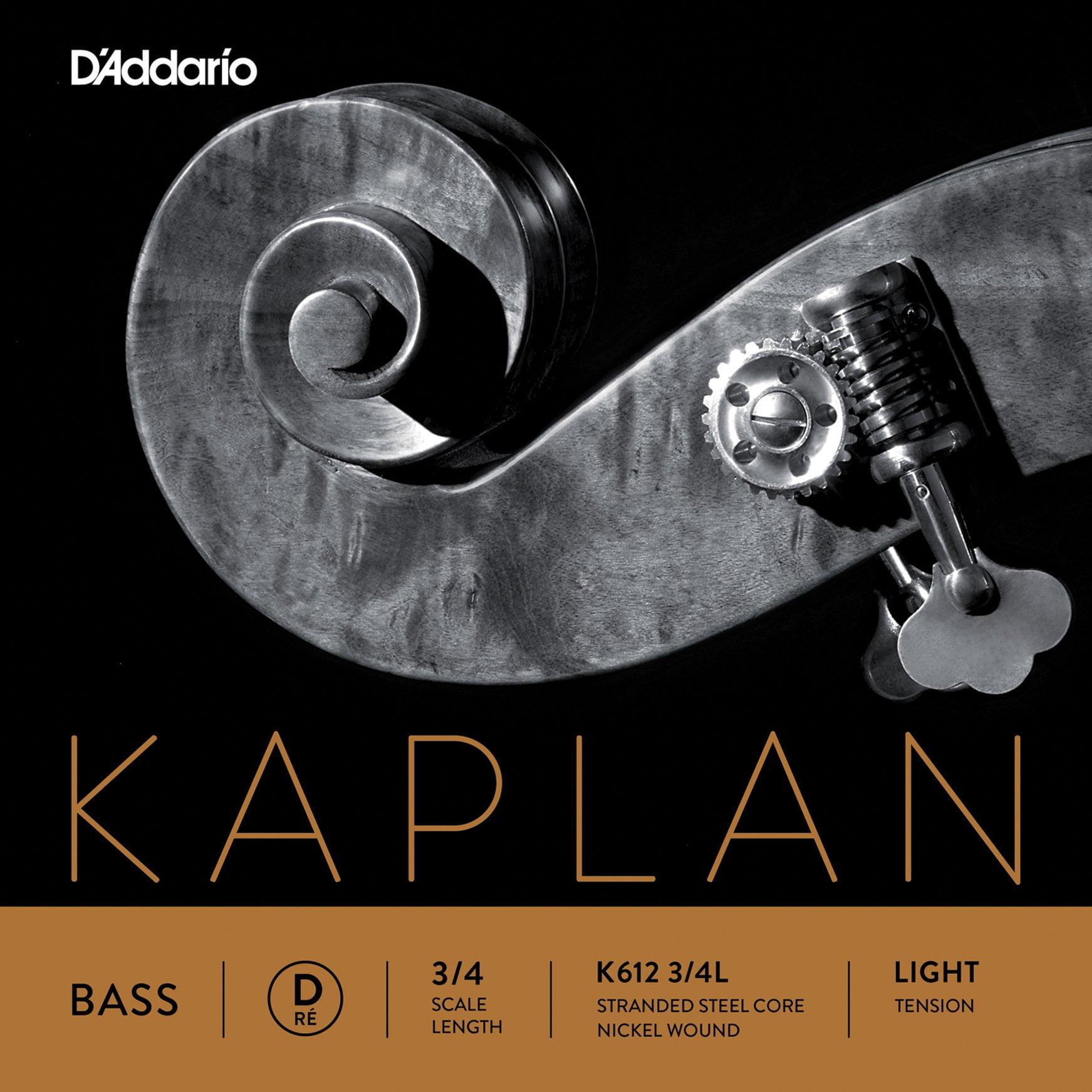 Kaplan Double Bass D String 3/4 Low