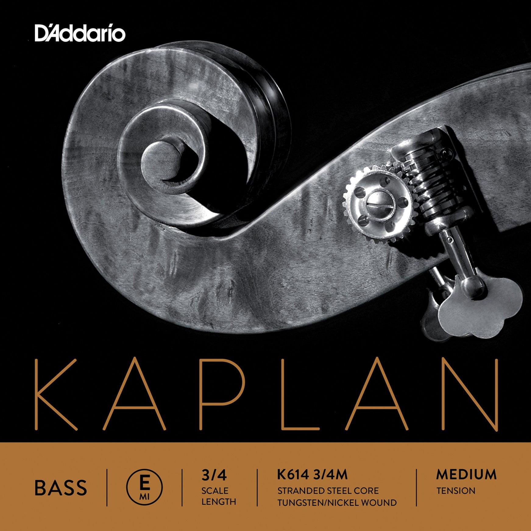 Kaplan Double Bass E String 3/4 Medium