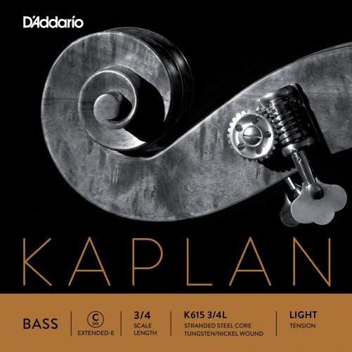 Kaplan Double Bass 2.1m Ext. E String 3/4 Low