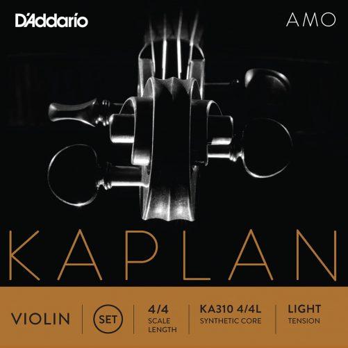 Kaplan Amo Violin Set of Strings 4/4 Low