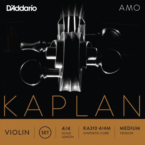 Kaplan Amo Violin Set of Strings 4/4 Medium