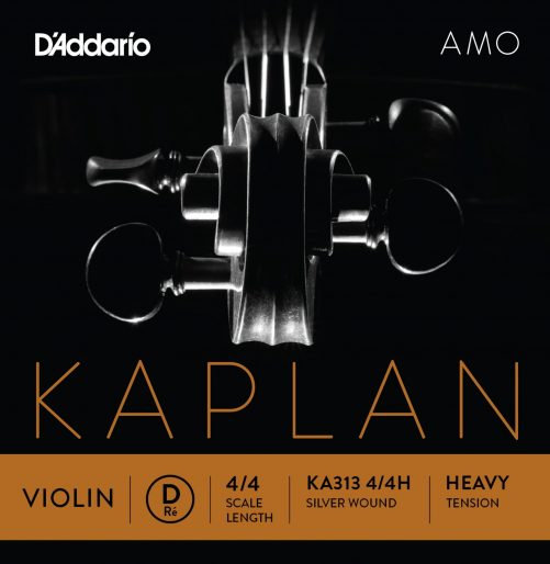 Kaplan Amo Violin D String 4/4 High