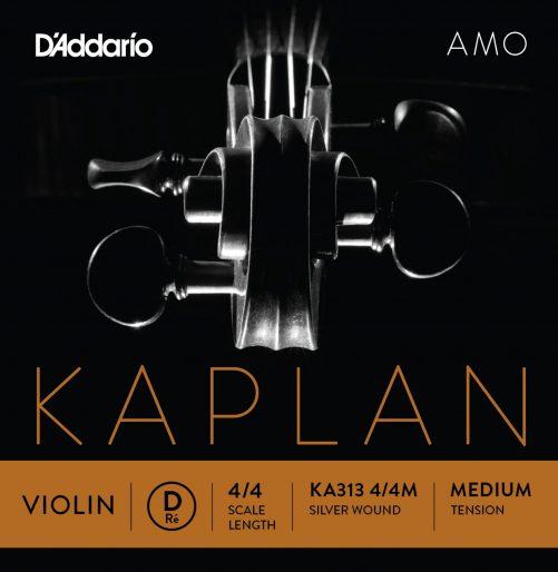 Kaplan Amo Violin D String 4/4 Medium