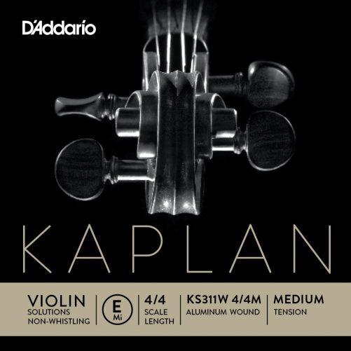 Kaplan Violin E String 4/4 Medium Non Whistlin'