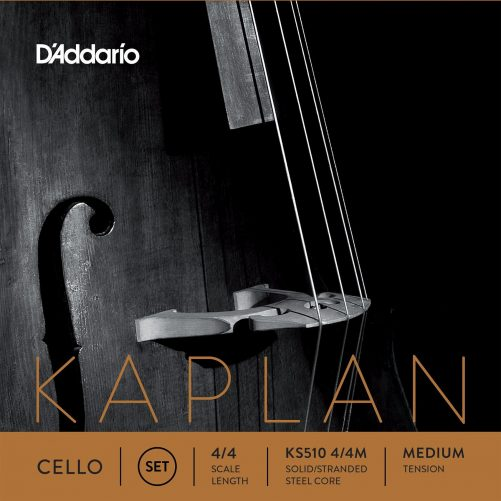 Kaplan Cello Set of Strings 4/4 Medium