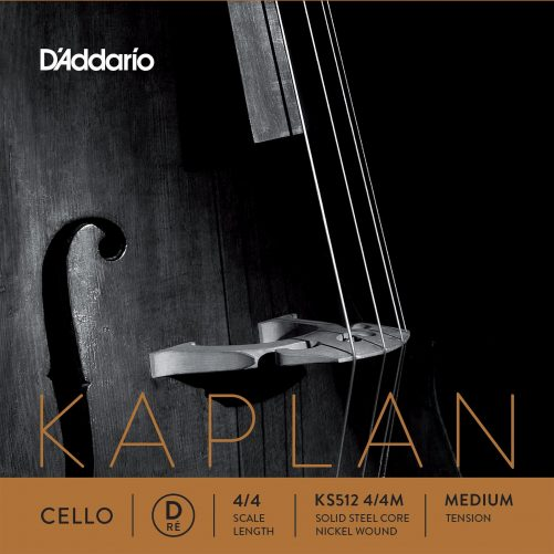 Kaplan Cello D String 4/4 Medium