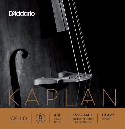 Kaplan Cello D String 4/4 High
