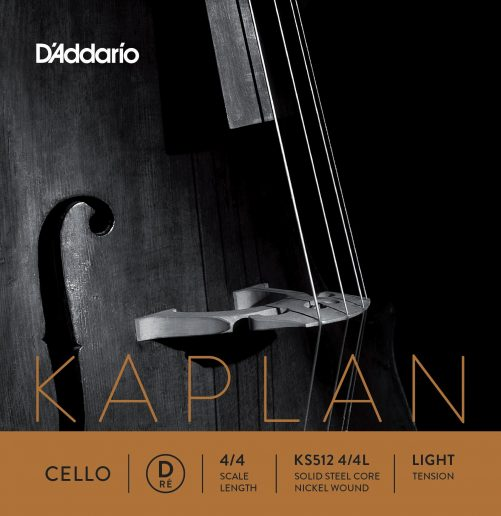 Kaplan Cello D String 4/4 Low