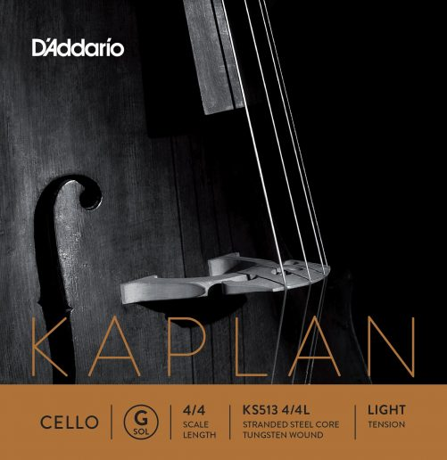 Kaplan Cello G String 4/4 Low
