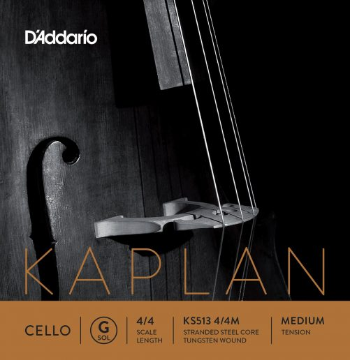 Kaplan Cello G String 4/4 Medium
