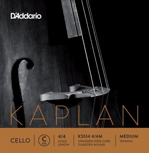 Kaplan Cello C String 4/4 Medium