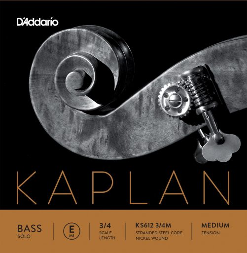 Kaplan Double Bass Solo E2 String 3/4 Medium