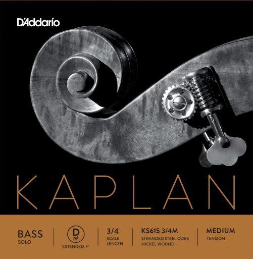 Kaplan Double Bass Solo D Ext 3/4 Medium