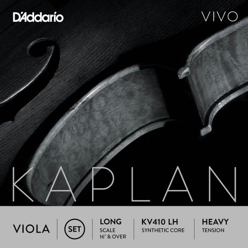 Kaplan Vivo Viola Set of Strings 38cm High