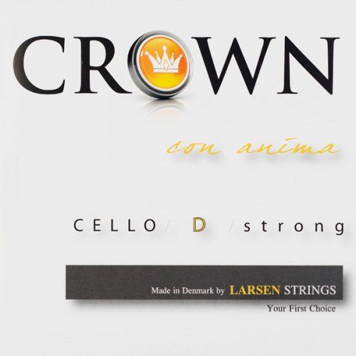 Crown Cello D String 4/4 Medium