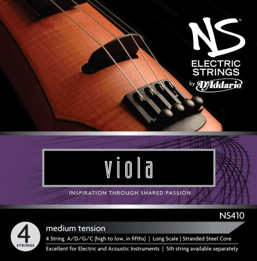 NS Electric Viola Set of Strings 38cm Medium