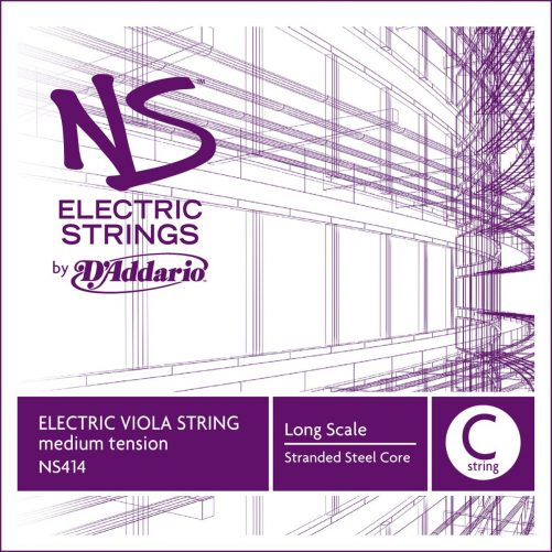 NS Electric Viola C String 38cm Medium