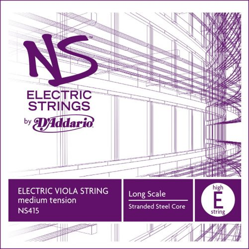 NS Electric Viola E String (High) 38cm Medium