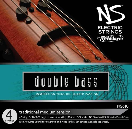 NS Electric Traditional Bass Set of Strings Medium