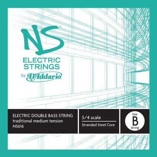 NS Electric Traditional Bass B5 String (low) Medium