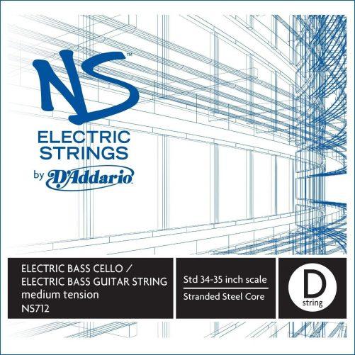 NS Electric Bass Cello D String Medium