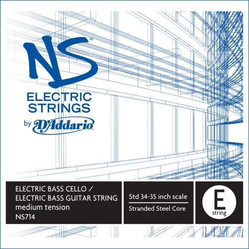 NS Electric Bass Cello E String Medium