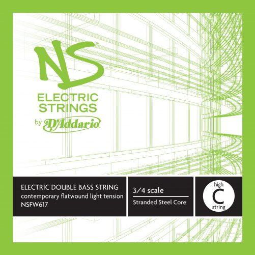 NS Electric Contemporary Bass C String (High) Medium