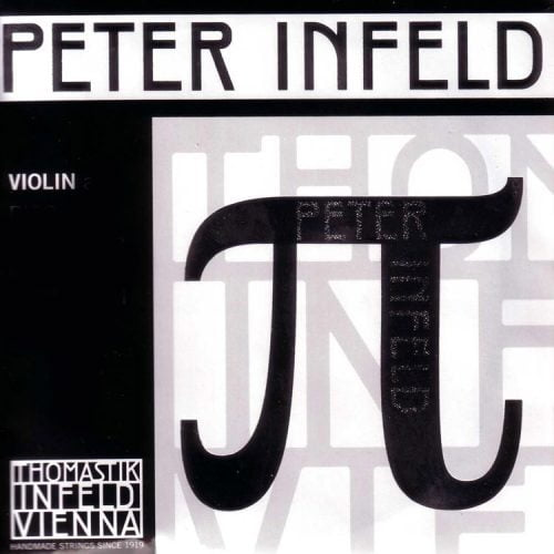 Peter Infeld Violin E String 4/4 Medium Removable Ball Platinum Plated