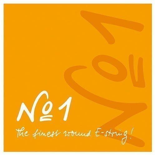 No1 Violin E String 4/4 Low Ball Chrome