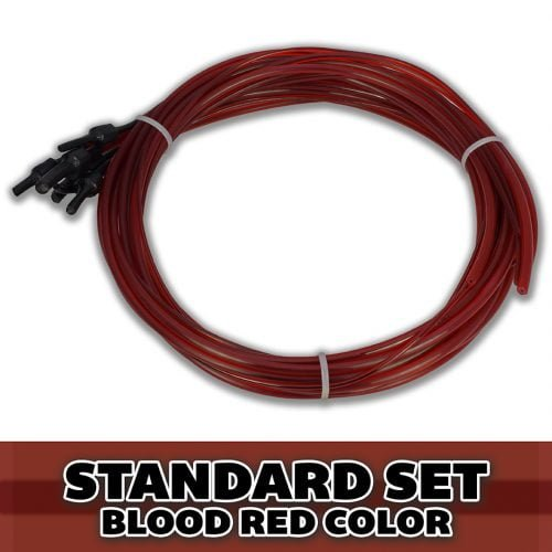 Standard Double Bass 3/4 Set of Strings Red