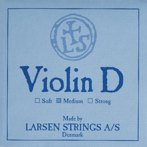 Larsen Violin D String 4/4 Low Aluminium