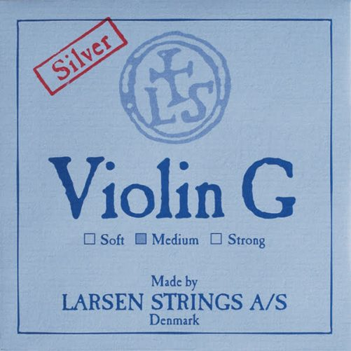 Larsen Violin G String 4/4 Low Silver
