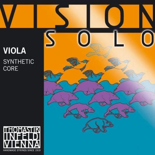Vision Solo Viola C String 4/4 Medium Silver