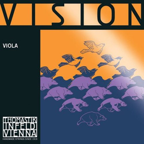 Vision Viola C String 4/4 Medium Tunsten-Silver