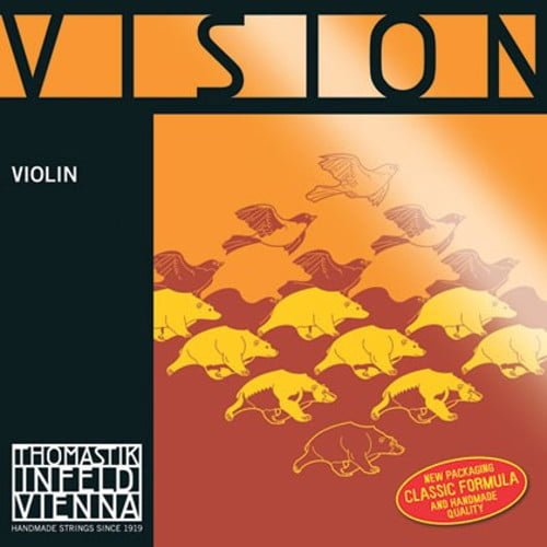 Vision Violin E String 4/4 Low Removable Ball Tin Plated